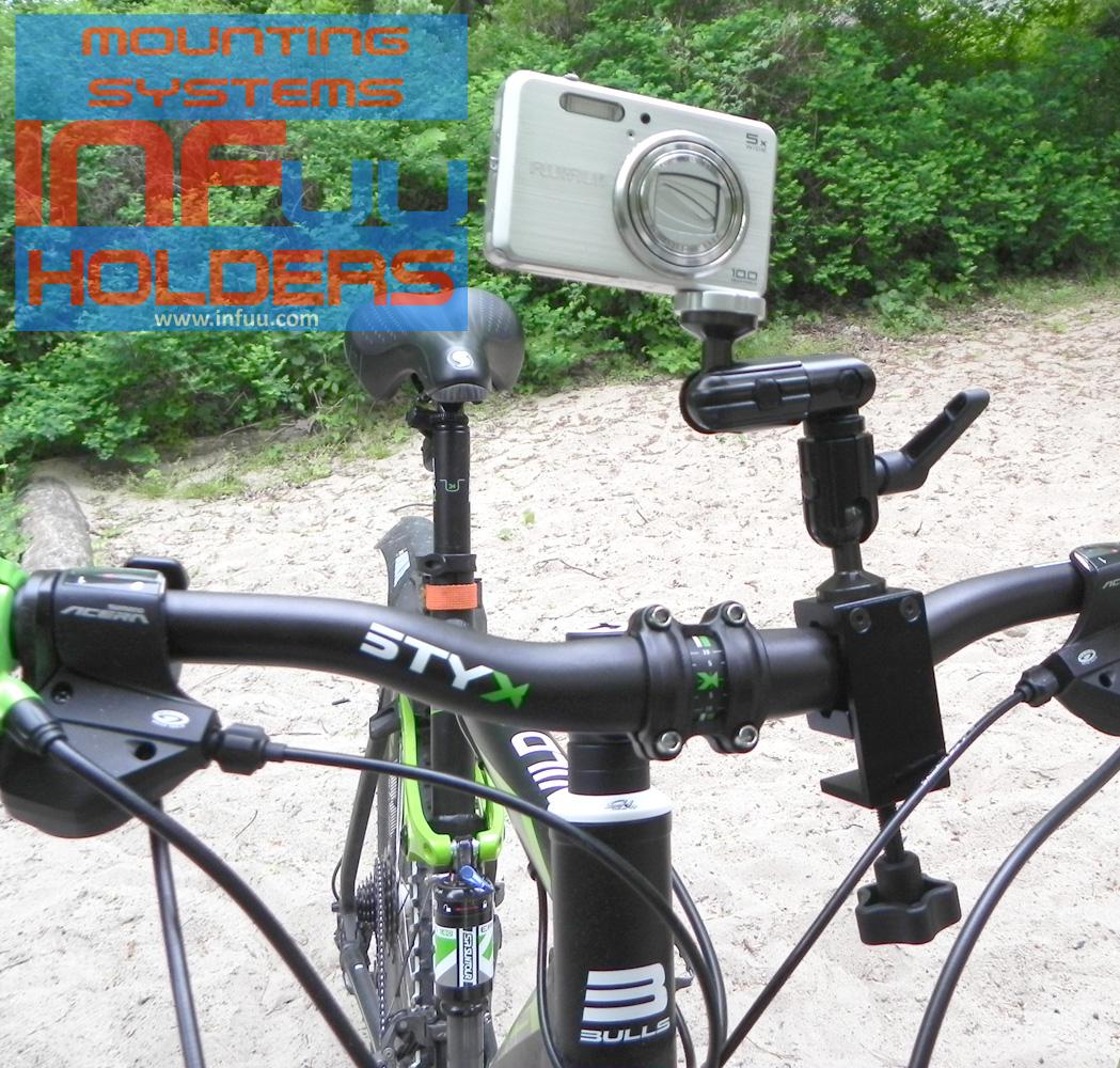 kamera camcorder halterung befestigung f r fahrrad. Black Bedroom Furniture Sets. Home Design Ideas