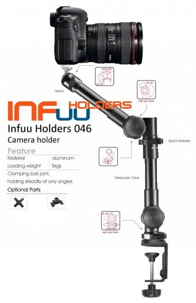 Tisch Kamera Halterung Camcorder Tischklemme Fotostativ Metall Infuu Holders 046