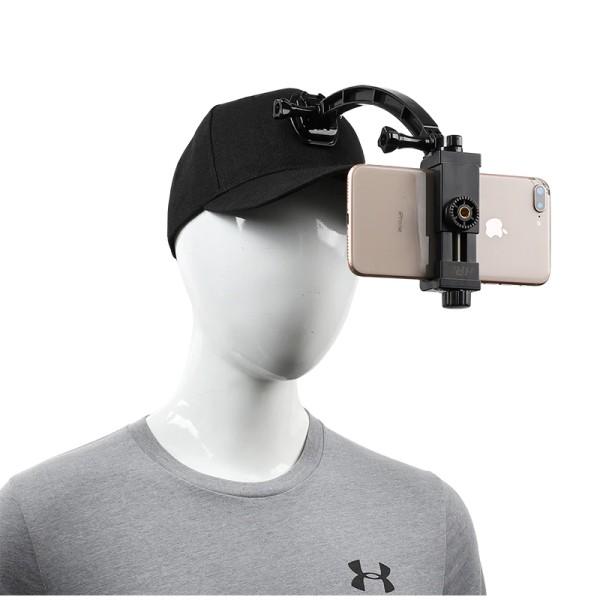 Infuu Holders Handy Kappe Mütze Cappy Cap Halterung Halter Smartphone Clip Action Kamera POV GoPro X