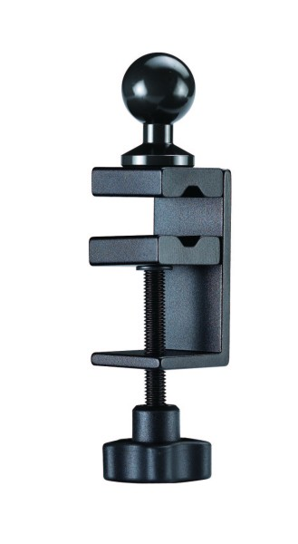 C-clamp Ball Adapter Small Clamp with ball adapter max. opening 40mm or ø30mm