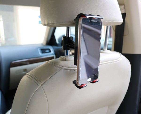 Smartphone telefon komórkowy Tablet PC Car Mount zaglówek uniwersalny 360 ° obrotowy uchwyt samochodowy dla iPada mini telefon XS Max, XR, X, 8, 7, 6S, Samsung S10 S9 S8 S7 S6, Uwaga 10, 9, Huawei wszystkie telefony Ball infuzji uchwyty