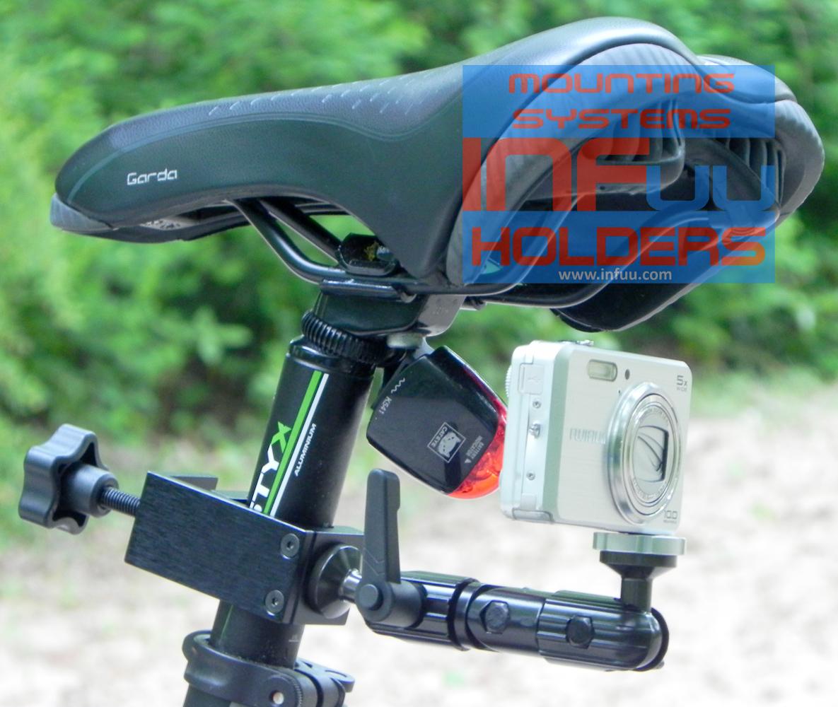 kamera camcorder halterung befestigung f r fahrrad motorrad fahrrad kamera infuu holders. Black Bedroom Furniture Sets. Home Design Ideas