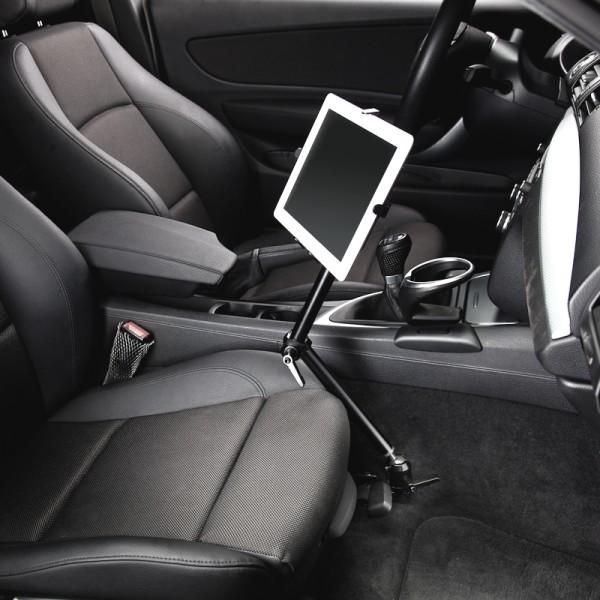 KFZ Aluminium holder for iPad Galaxy Tab Note Tablet-PC Universal 229