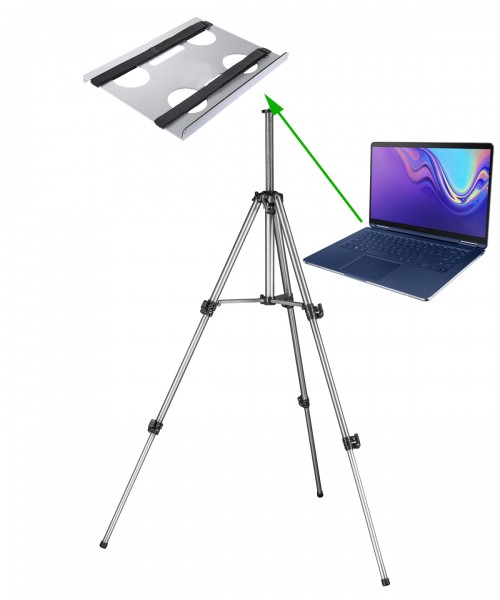 Mobile Notebook Table Tripod Holder Laptop Stand 028