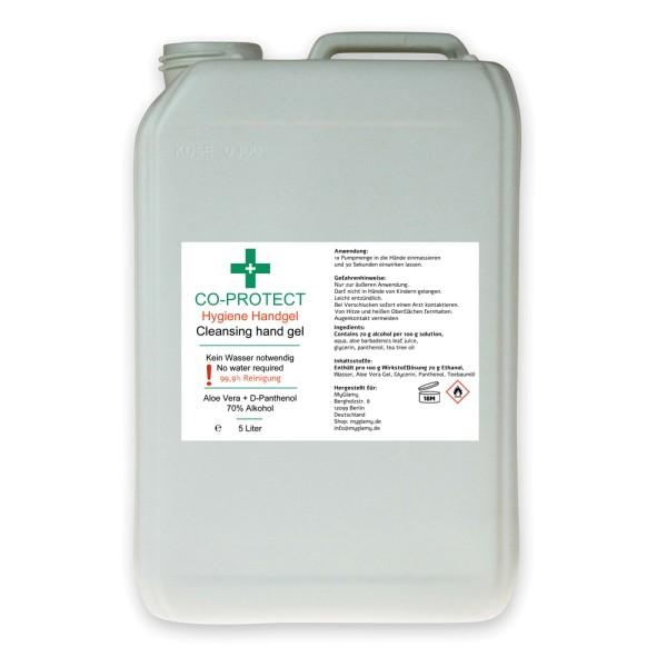 Desinfektions-Mittel Handgel Hygiene 5 Liter für Hände - Infuu Holders 032-5