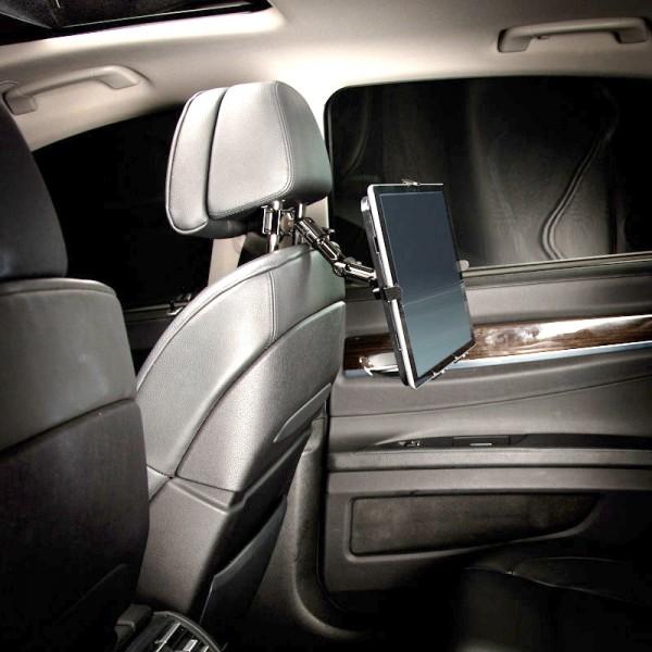 Kopfstützen-Halterung Arm Befestigung Galaxy Note Pro XXL Tablet-PC 8 -16 Zoll Aluminium Metall stab