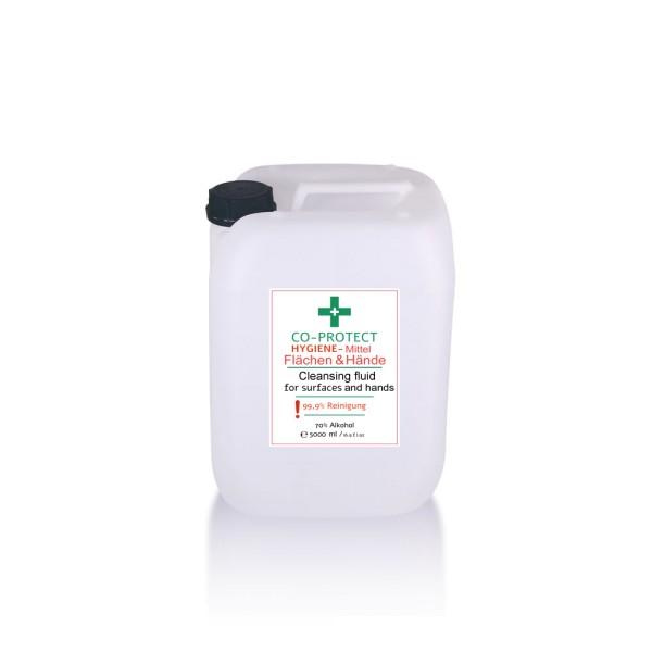 Desinfektions-Mittel Aloe Vera Parfum Hygiene 5 Liter für Hände und Flächen