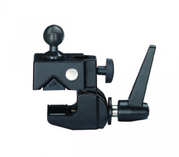 MARVO JC Heavy Duty Super Clamp with ball adapter For 8-65mm tube or flat furface