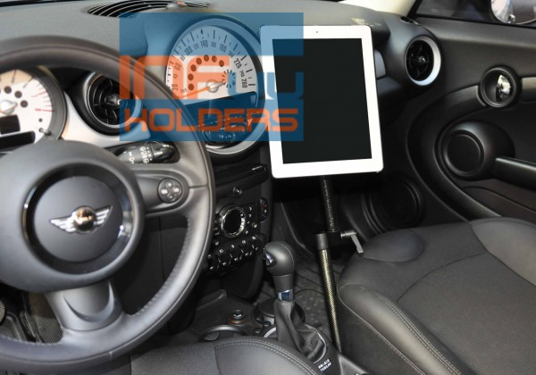 BMW Mini CARBON Holder for iPad 1 2 3 Tablet-PC Galaxy Tab Note Nexus Mount Arm