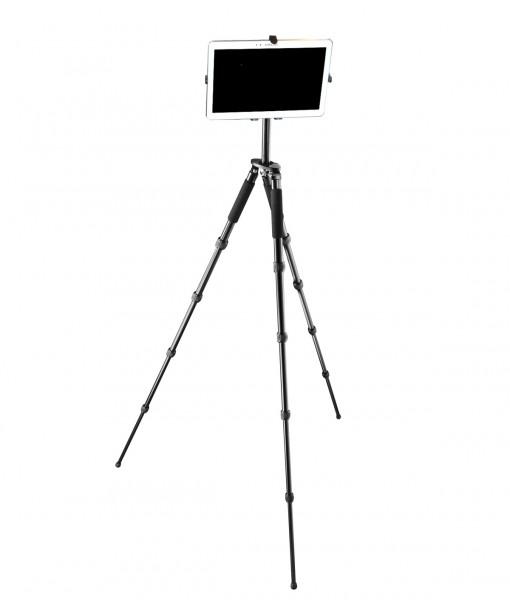 Mobiler Tripod Tablet-PC iPad universal Tisch stabil Halterung Ständer Dreibein 028-TAB Outdoor