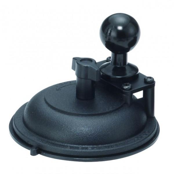 Base SB Saugnapf Basis Kugel 26mm rund zum Ansaugen 90mm Durchmesser für Glas und glatte Flächen