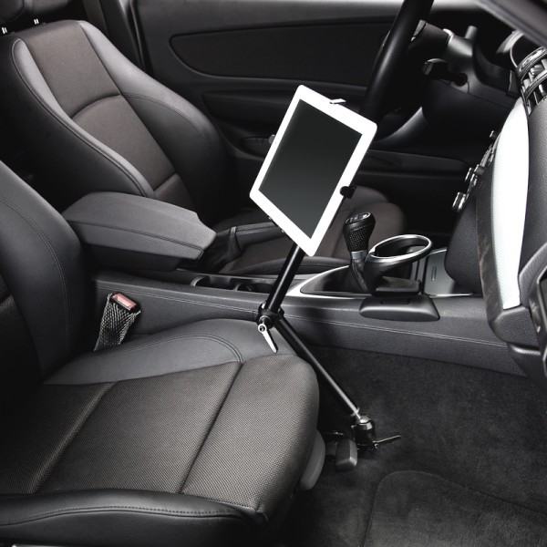 KFZ Aluminium holder for iPad Galaxy Tab Note Tablet-PC Universal 229