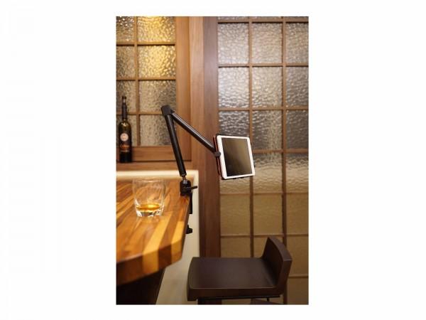 Halterung für Rollstuhl iPad Galaxy Tab Note Tablet-PC für Tisch Rohr Klemme