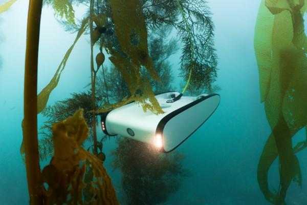 Unterwasser Drohne Erkundung Tauchfahrzeug Unterwasserfahrzeug UUV Trident Open-ROV